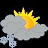 Wetter morgen: leichter Schneefall